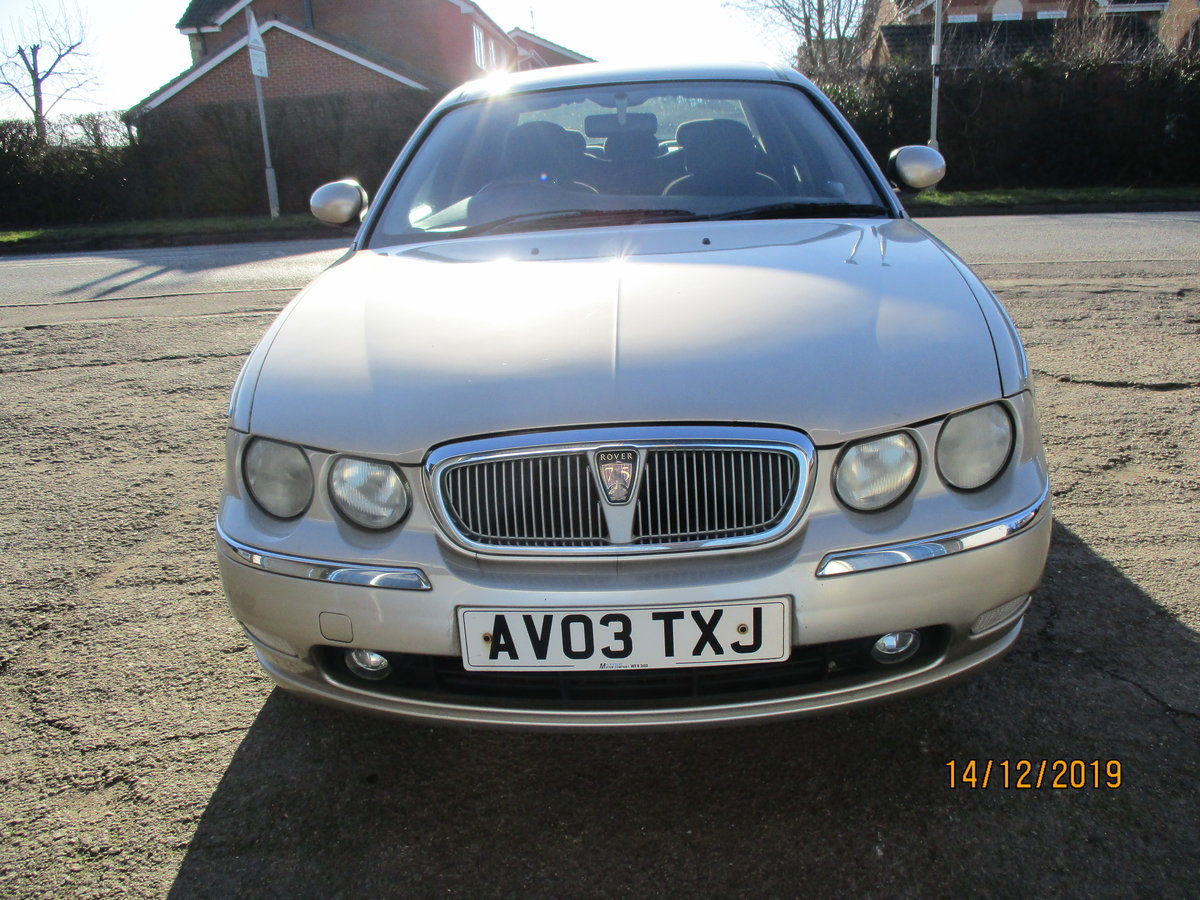 2003 SOUND OLD ROVER DIESEL 75 5 SPEED MANUL WITH A TOW BAR For Sale (picture 2 of 6)