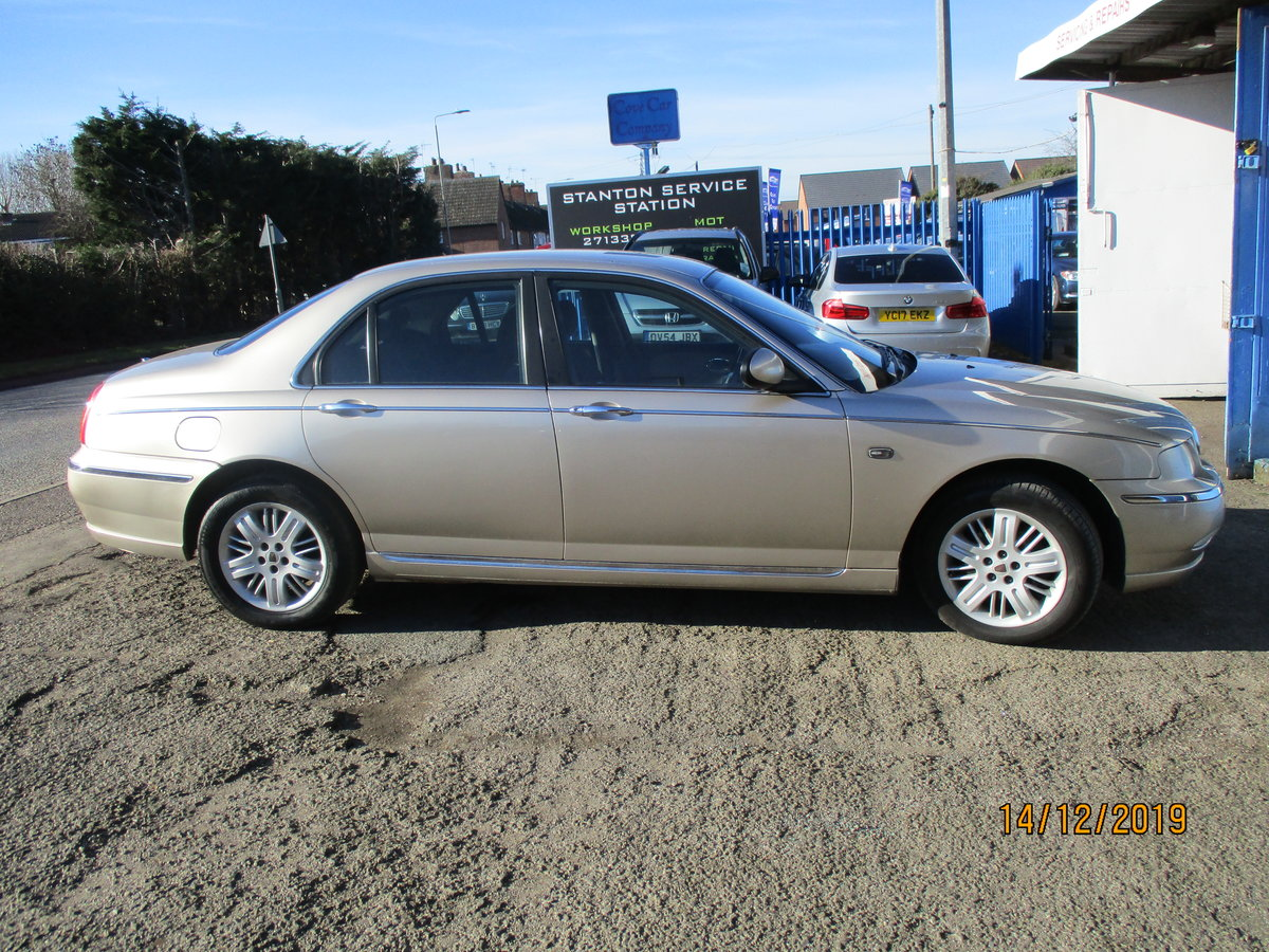 2003 SOUND OLD ROVER DIESEL 75 5 SPEED MANUL WITH A TOW BAR For Sale (picture 4 of 6)
