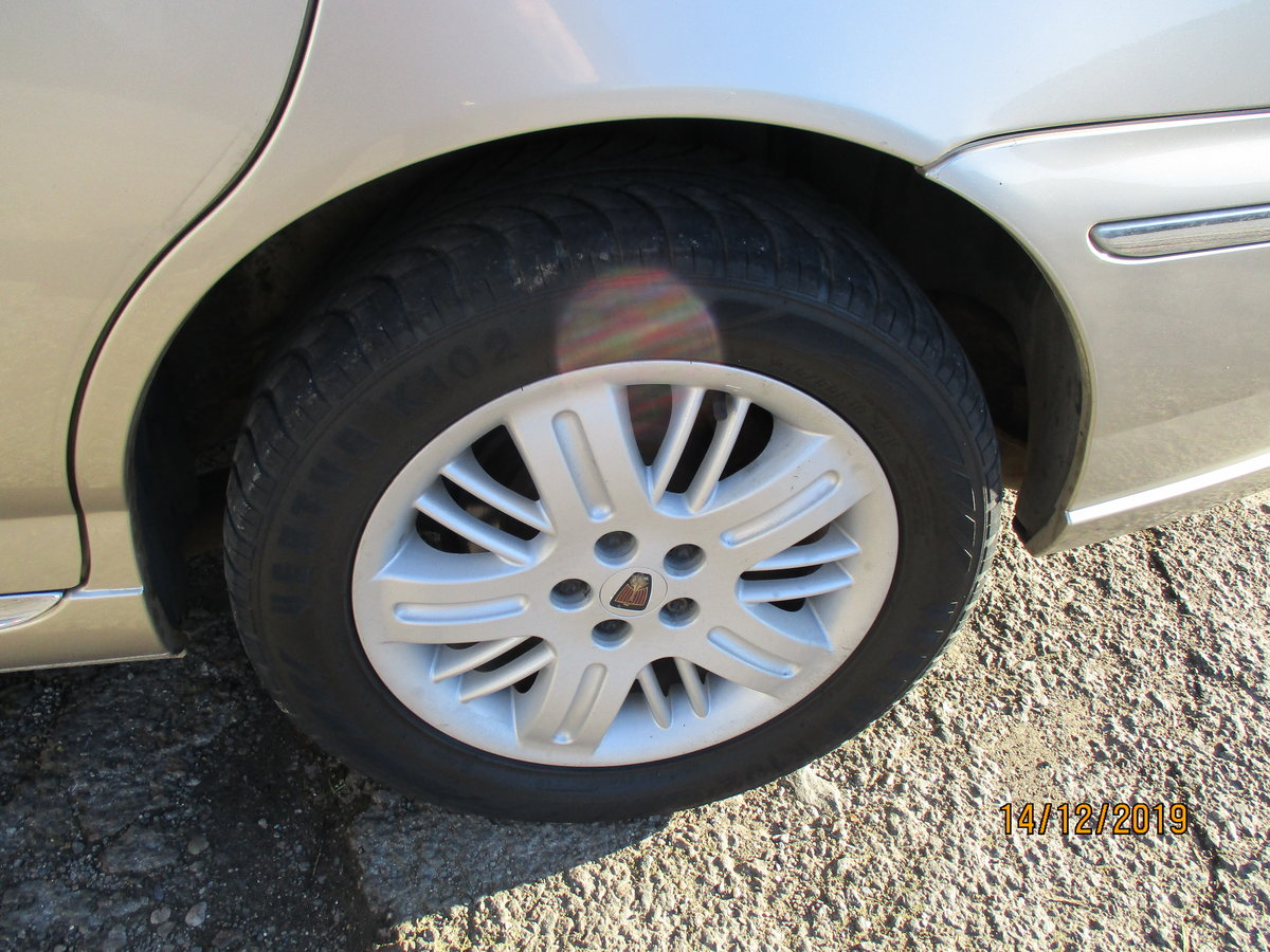 2003 SOUND OLD ROVER DIESEL 75 5 SPEED MANUL WITH A TOW BAR  For Sale (picture 6 of 6)