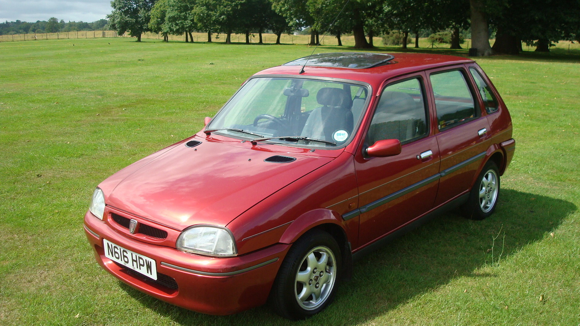 1995 Rover 111 GSI SOLD (picture 1 of 6)