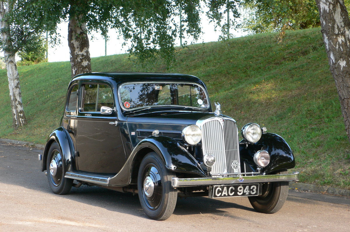 1938 Rover P2 10 Two Door Coupe For Sale by Auction (picture 1 of 6)