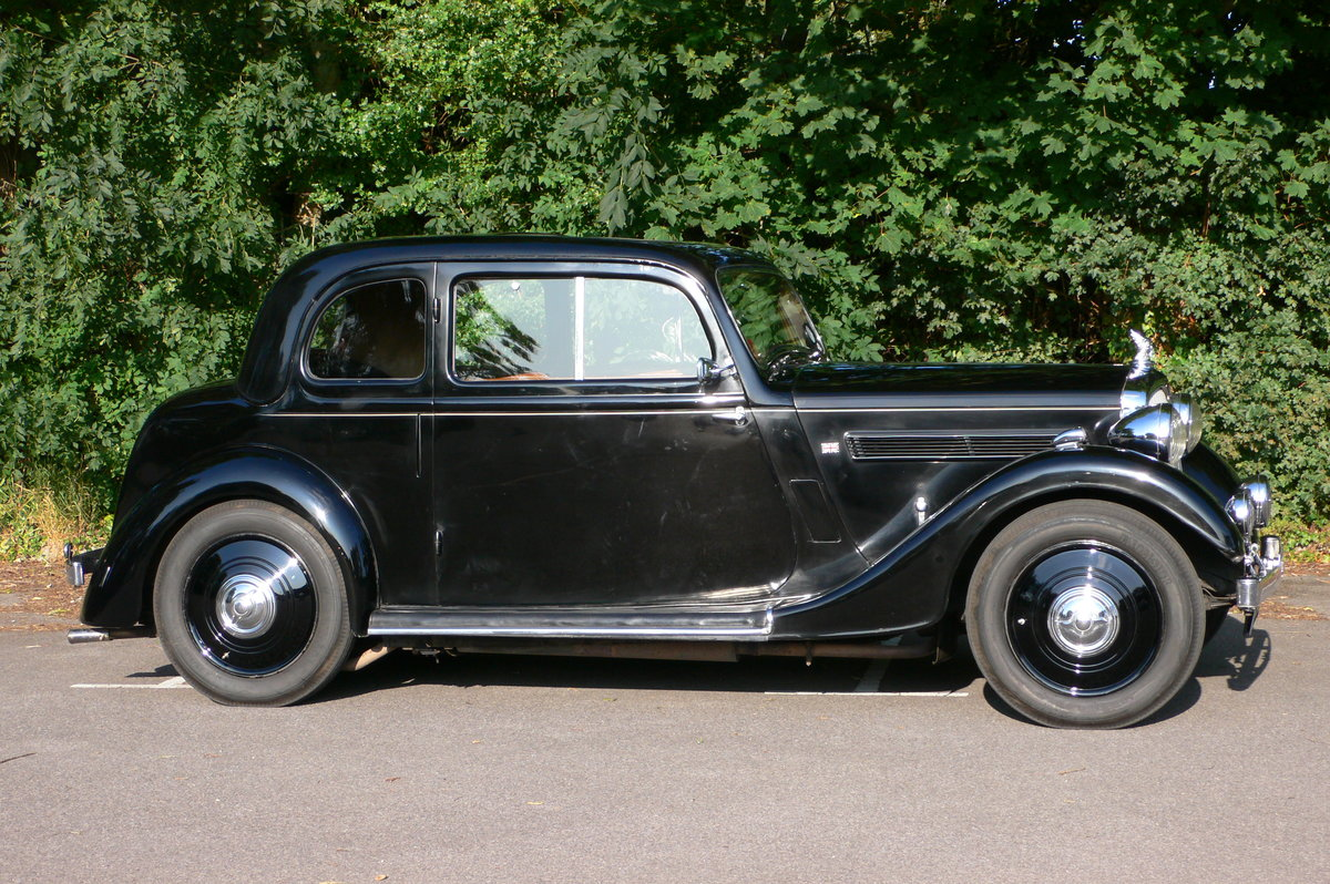 1938 Rover P2 10 Two Door Coupe For Sale by Auction (picture 2 of 6)