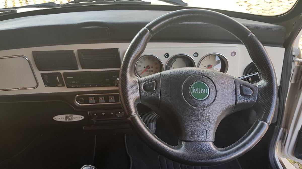 1998 ROVER MINI PAUL SMITH RARE INVESTABLE CLASSIC MINI 1300 For Sale (picture 5 of 6)