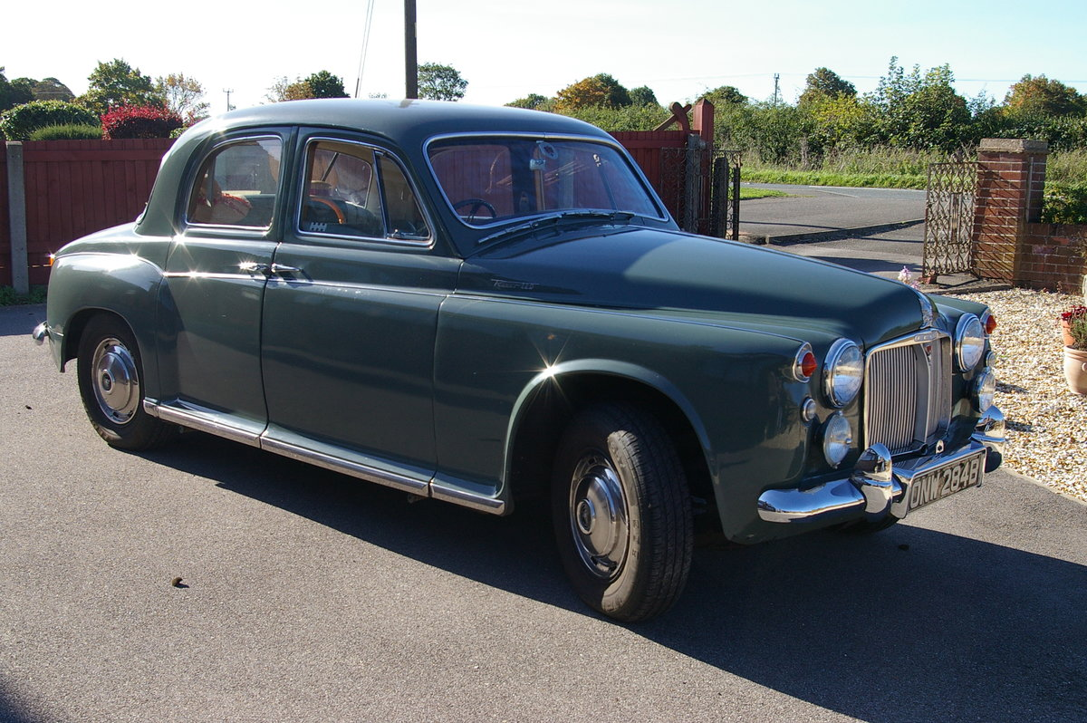 ROVER P4 110 1964 SOLD (picture 1 of 6)