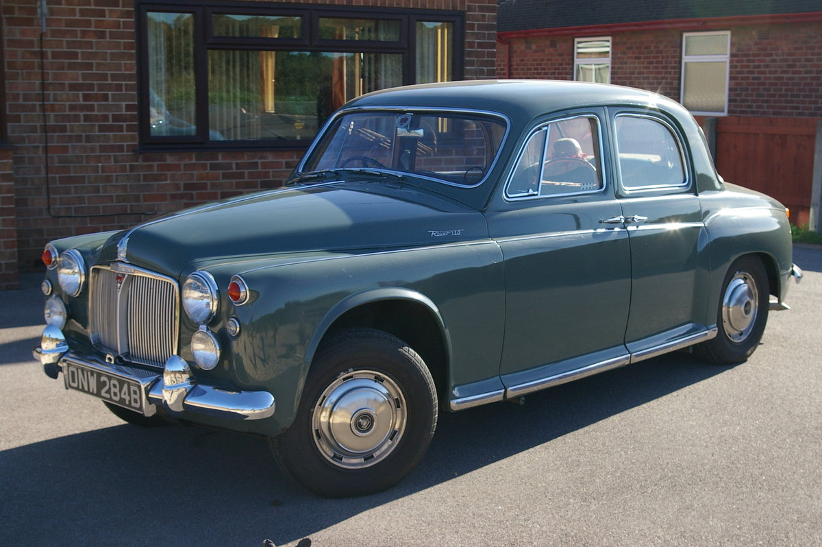 ROVER P4 110 1964 SOLD (picture 4 of 6)
