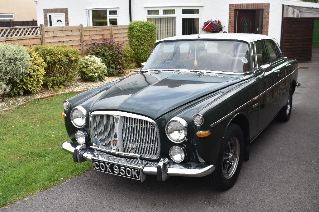 A 1972 Rover P5B coupé - 03/11/2019 For Sale by Auction (picture 1 of 6)
