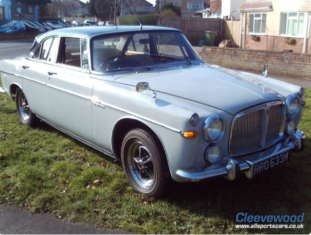 1972 Rover P5 Coupe 3.5 For Sale (picture 1 of 1)