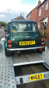 1995 Rover Mini Sprite Cooper replica 1.3 manual