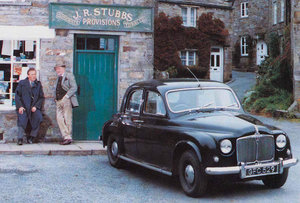 ALL CREATURES GREAT AND SMALL 1952 ROVER 75 SALOON For Sale by Auction