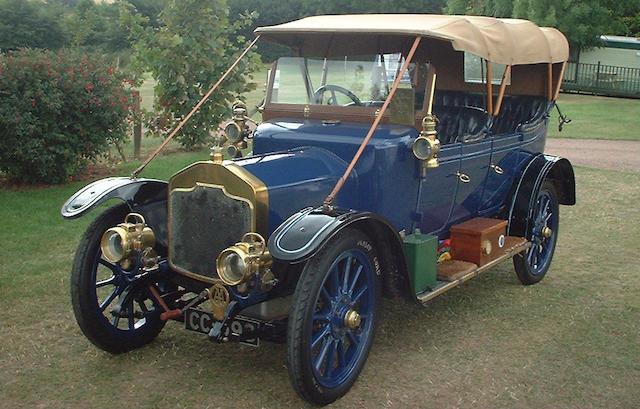 1911 ROVER 12HP TOURER For Sale by Auction (picture 1 of 1)