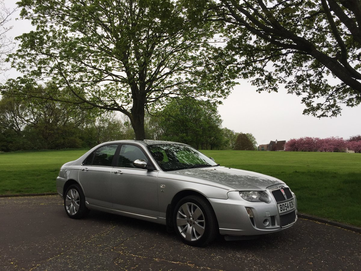 2004 Rover 75 V8 Connoisseur SE For Sale (picture 1 of 6)