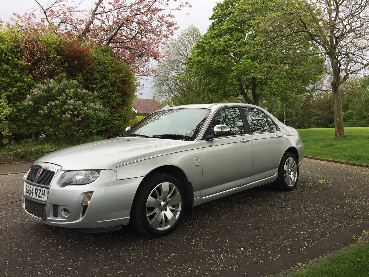 2004 Rover 75 V8 Connoisseur SE For Sale (picture 2 of 6)