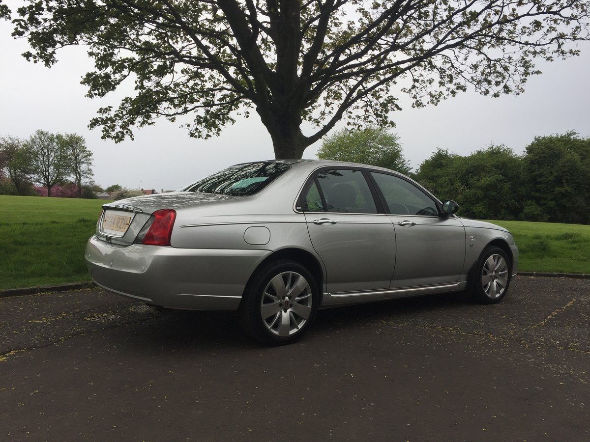 2004 Rover 75 V8 Connoisseur SE For Sale (picture 3 of 6)