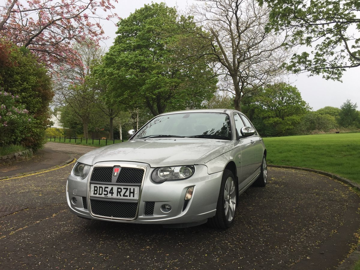 2004 Rover 75 V8 Connoisseur SE For Sale (picture 4 of 6)