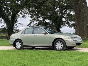 2000 W ROVER 75 2.0 V6 CLASSIC SE MANUAL ONLY 38000 MILES