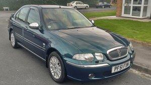 2002 Rover 45 Imrpession 5 door