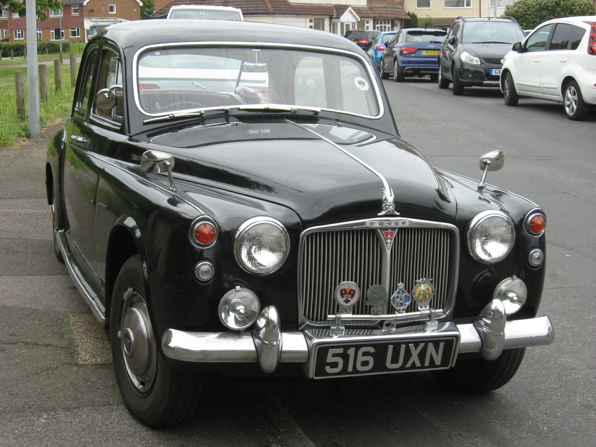 1943 1963 ROVER P4  LOW MILEAGE, FOUR PREVIOUS OWNERS For Sale (picture 1 of 6)