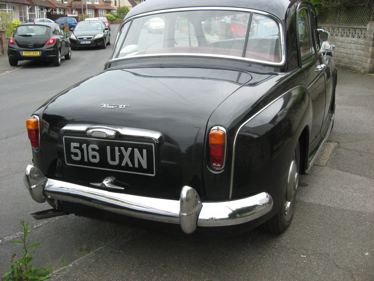 1943 1963 ROVER P4  LOW MILEAGE, FOUR PREVIOUS OWNERS For Sale (picture 2 of 6)