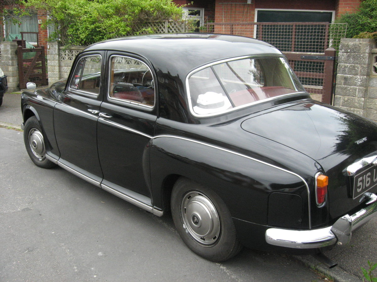 1943 1963 ROVER P4  LOW MILEAGE, FOUR PREVIOUS OWNERS For Sale (picture 3 of 6)