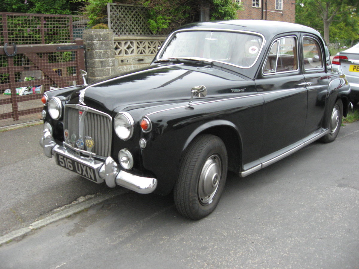 1943 1963 ROVER P4  LOW MILEAGE, FOUR PREVIOUS OWNERS For Sale (picture 4 of 6)