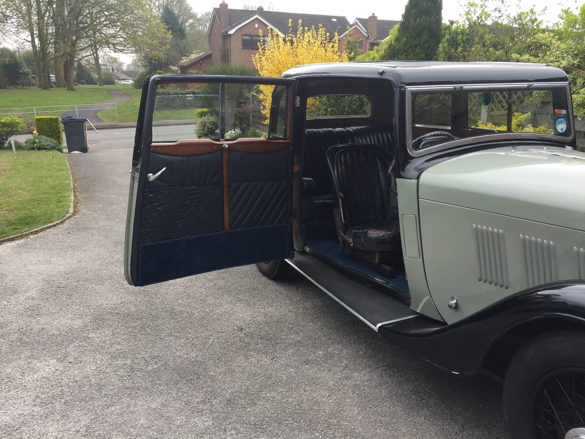 1933 Rover 12 Coupe For Sale (picture 5 of 6)