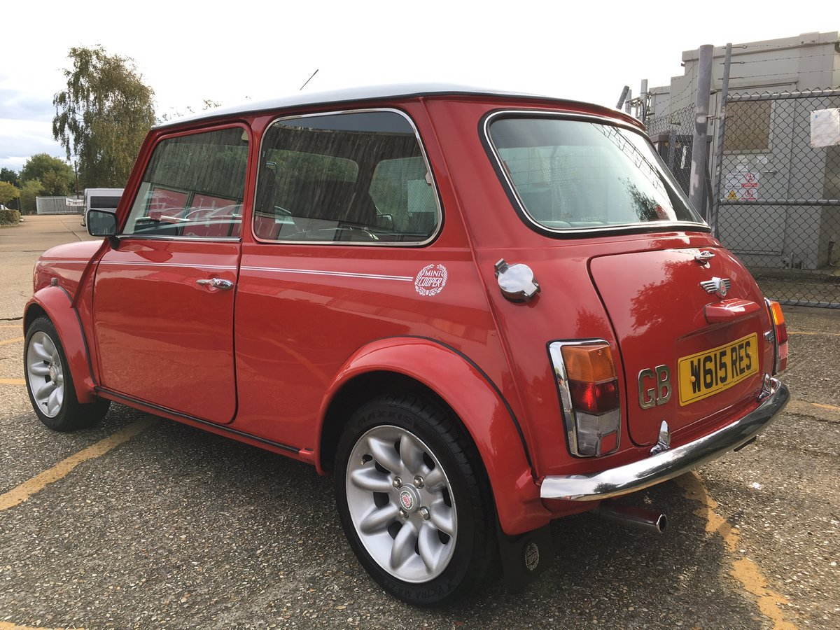 2000 Rover Mini Cooper Sport. Solar Red. 65k. Stunning. For Sale (picture 3 of 6)