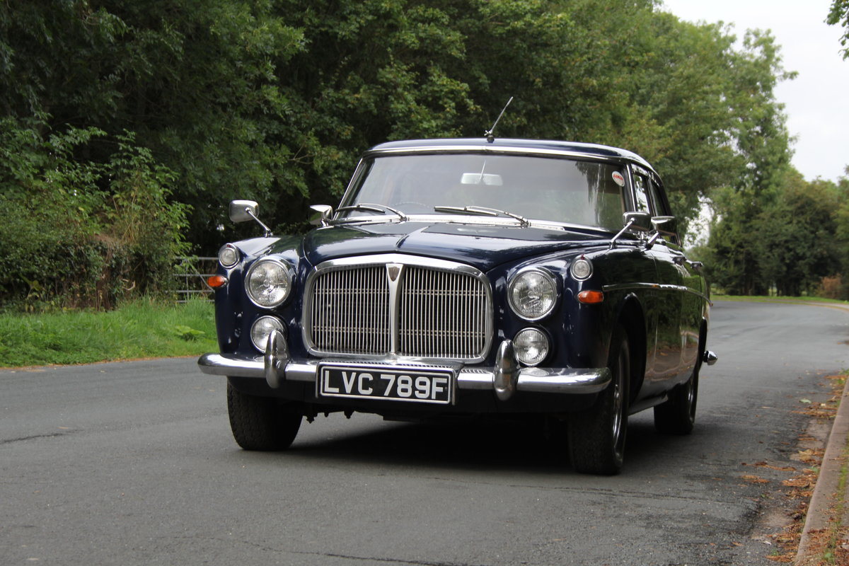 1968 Rover P5B Saloon - Recent gear box rebuild  For Sale (picture 3 of 20)