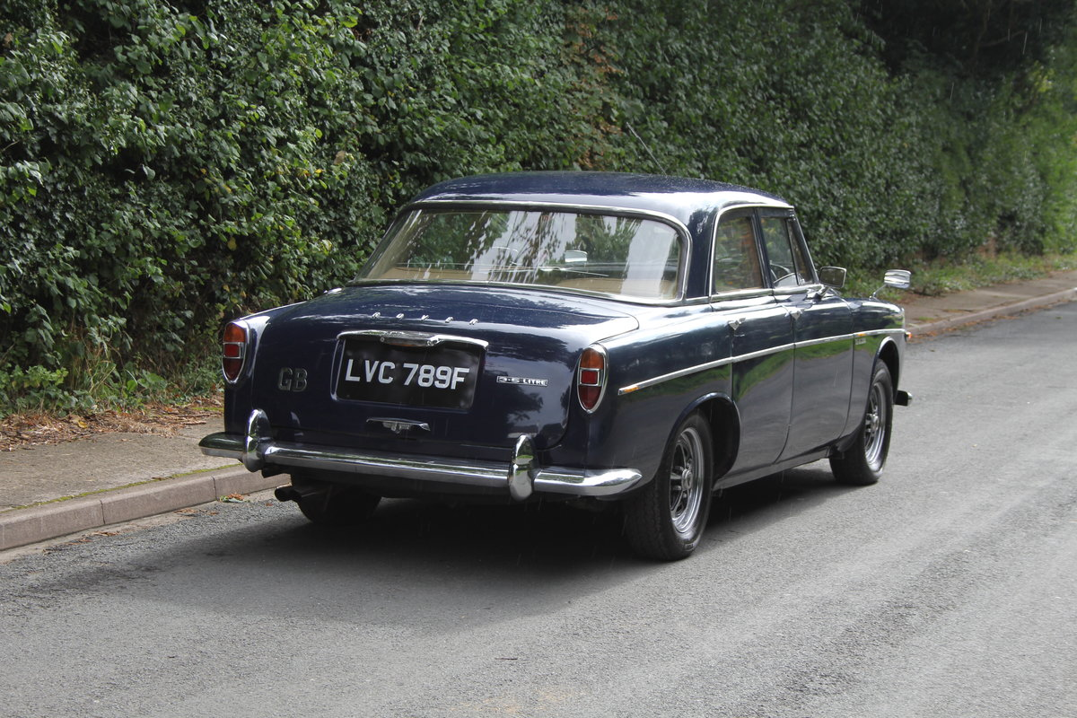 1968 Rover P5B Saloon - Recent gear box rebuild  For Sale (picture 6 of 20)