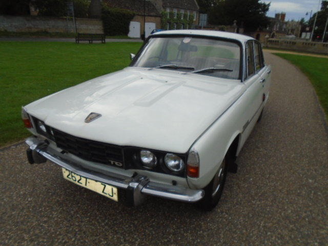 1973 Rover P6 2000 TC For Sale (picture 2 of 6)