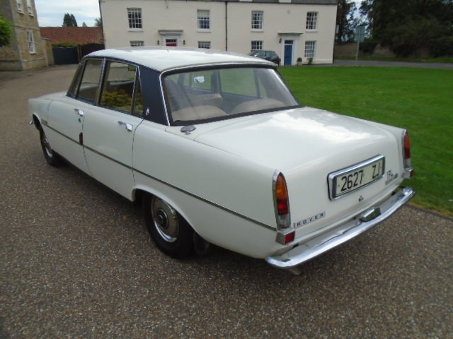 1973 Rover P6 2000 TC For Sale (picture 4 of 6)