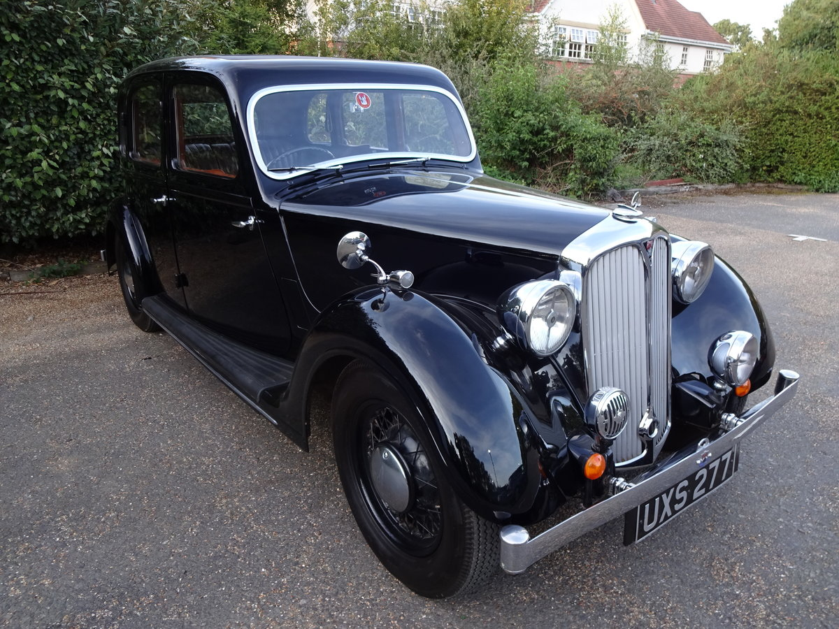 1937 Rover p2 12 saloon For Sale (picture 1 of 6)