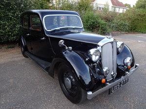 1937 Rover p2 12 saloon