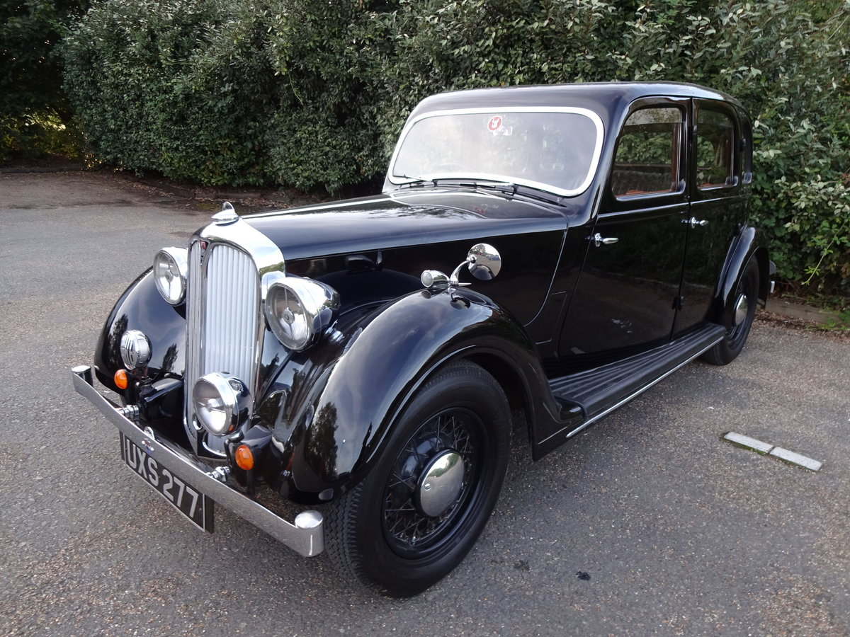 1937 Rover p2 12 saloon For Sale (picture 2 of 6)