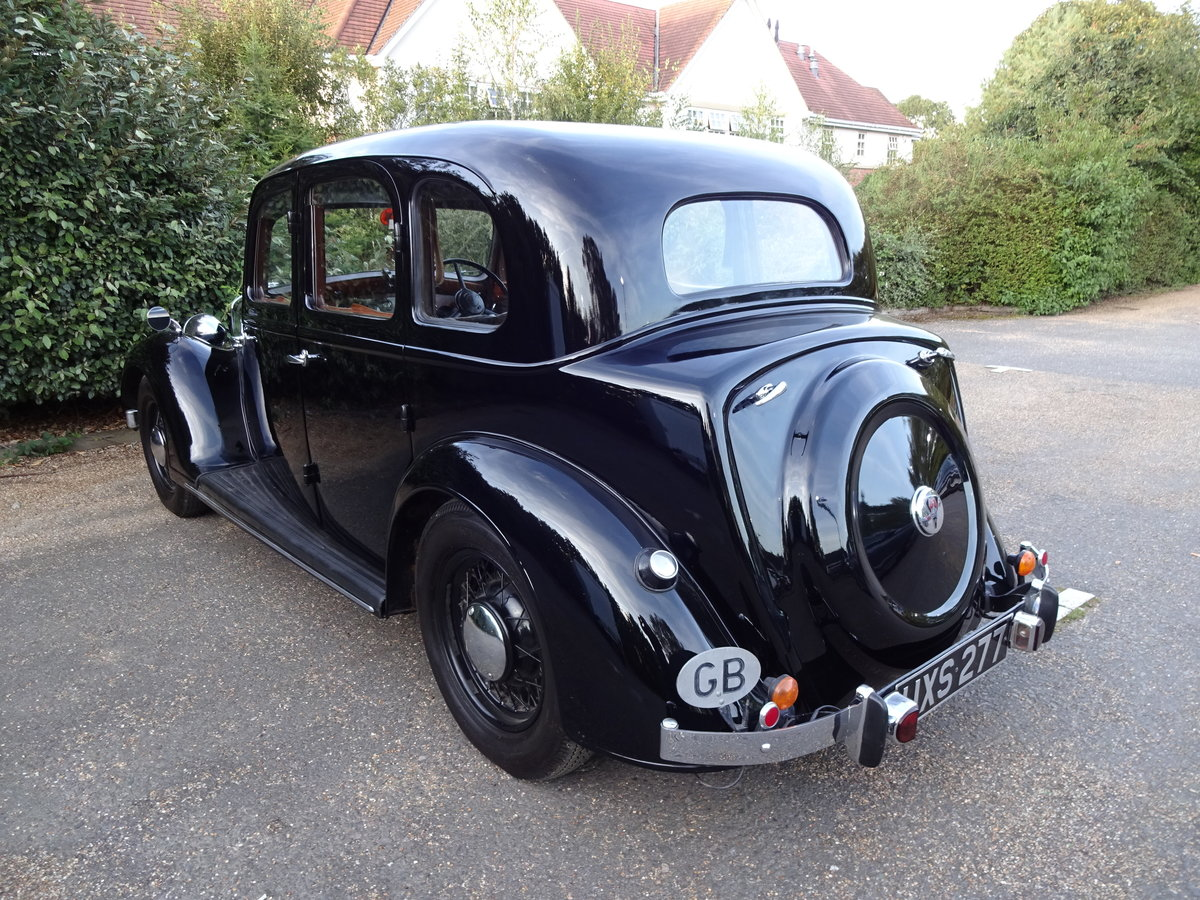 1937 Rover p2 12 saloon For Sale (picture 3 of 6)