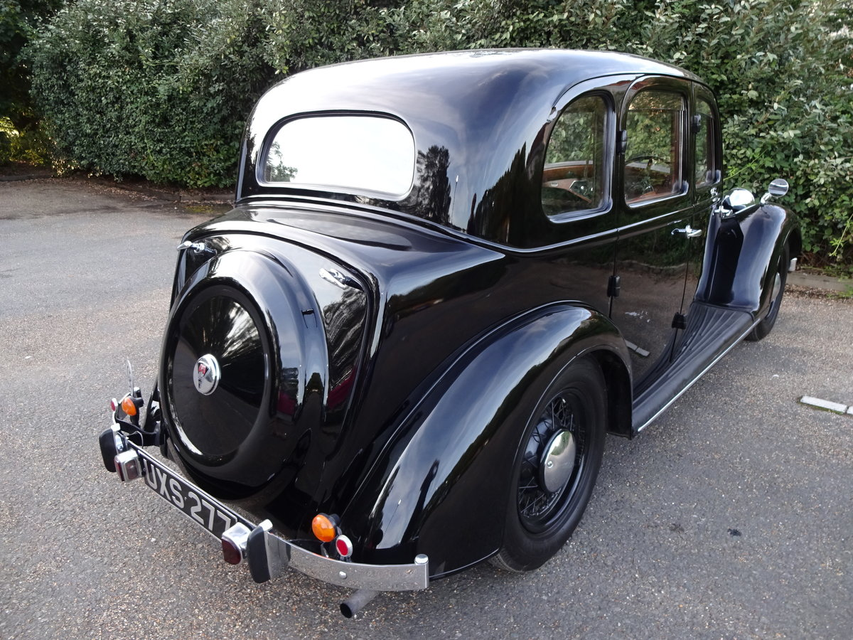 1937 Rover p2 12 saloon For Sale (picture 4 of 6)