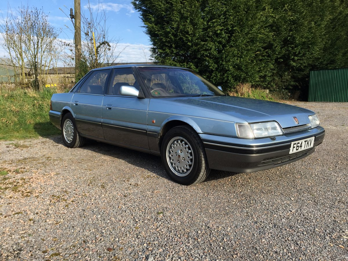 1989 Rover 800 827 Sterling Mk1 Auto For Sale (picture 1 of 6)
