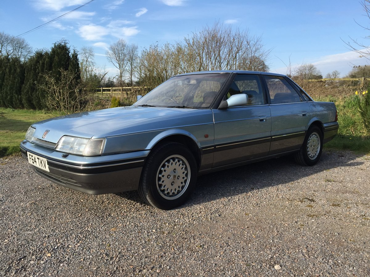 1989 Rover 800 827 Sterling Mk1 Auto For Sale (picture 2 of 6)