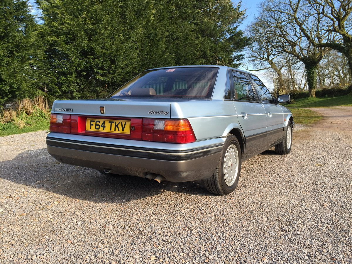 1989 Rover 800 827 Sterling Mk1 Auto For Sale (picture 3 of 6)