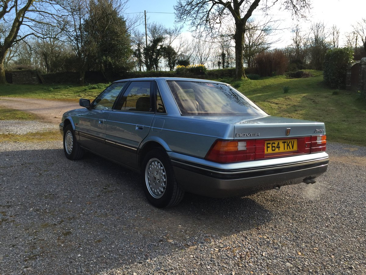 1989 Rover 800 827 Sterling Mk1 Auto For Sale (picture 4 of 6)