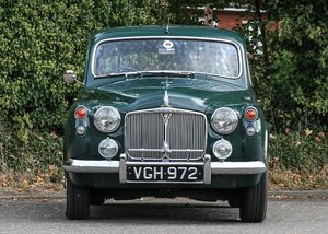1958 Rover P4 105R SOLD by Auction