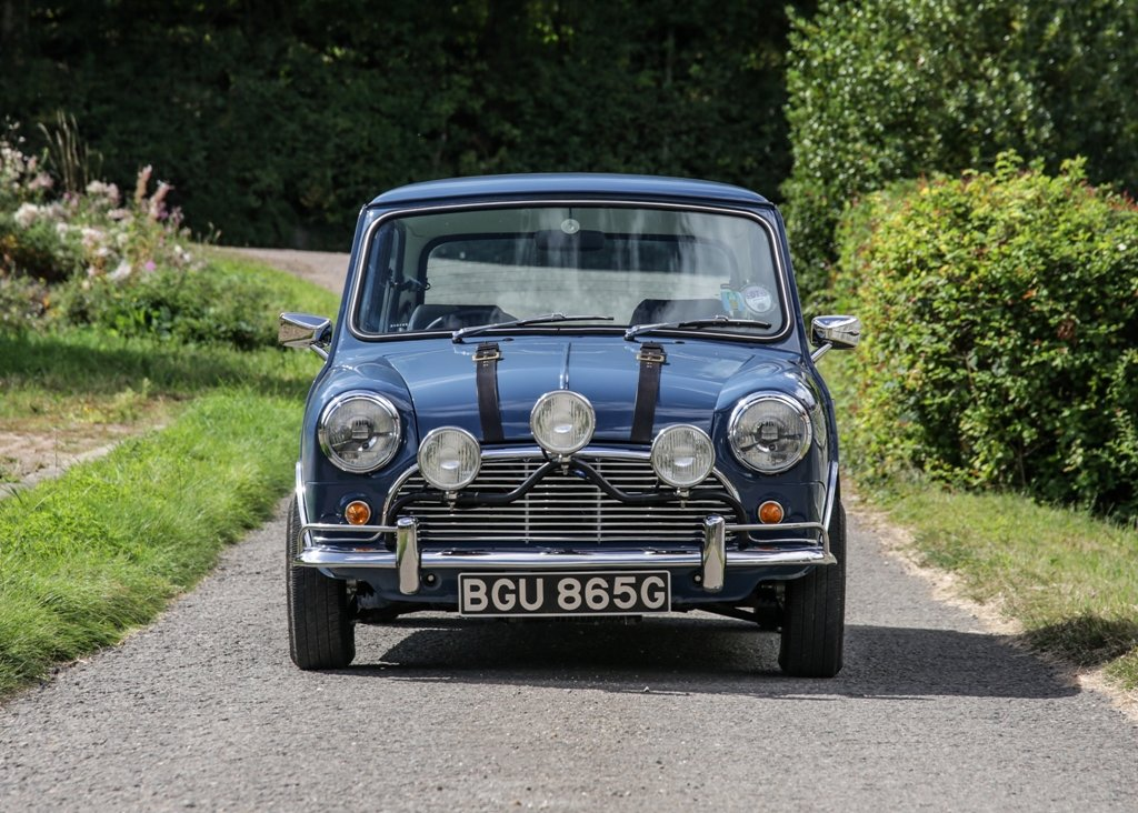 1990 Rover Mini The Italian Job SOLD by Auction (picture 1 of 6)