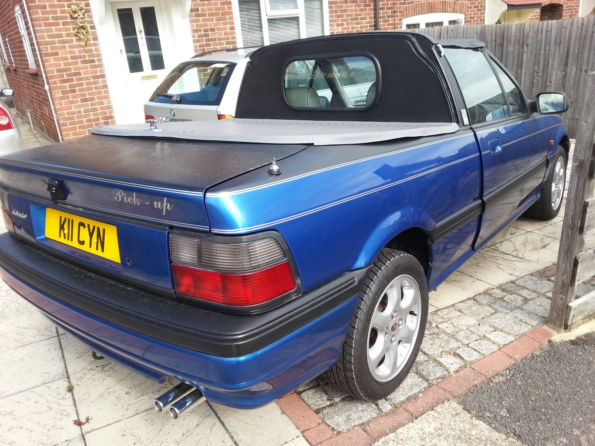 1992 200 Cabriolet Pick-Up conversion Automatic For Sale (picture 3 of 6)
