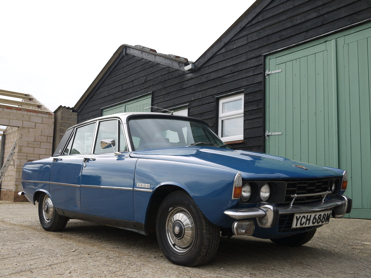 1973 ROVER P6 V8 3500 WITH PAS AND LEATHER - PROJECT CAR !! SOLD (picture 1 of 6)