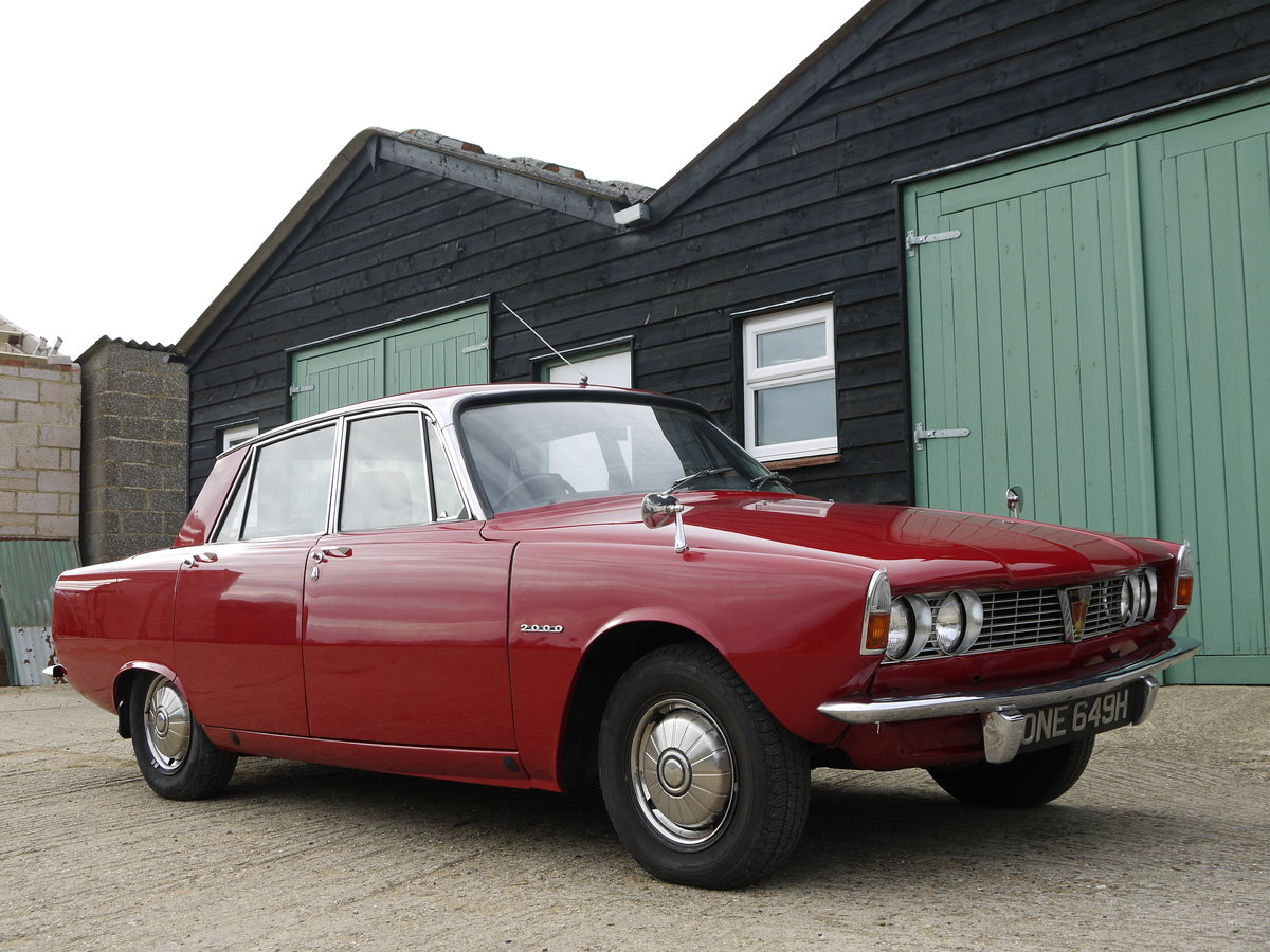 1970 ROVER P6 2000 SC AUTOMATIC - SERIES ONE TWO OWNERS 70K MILES SOLD (picture 1 of 6)