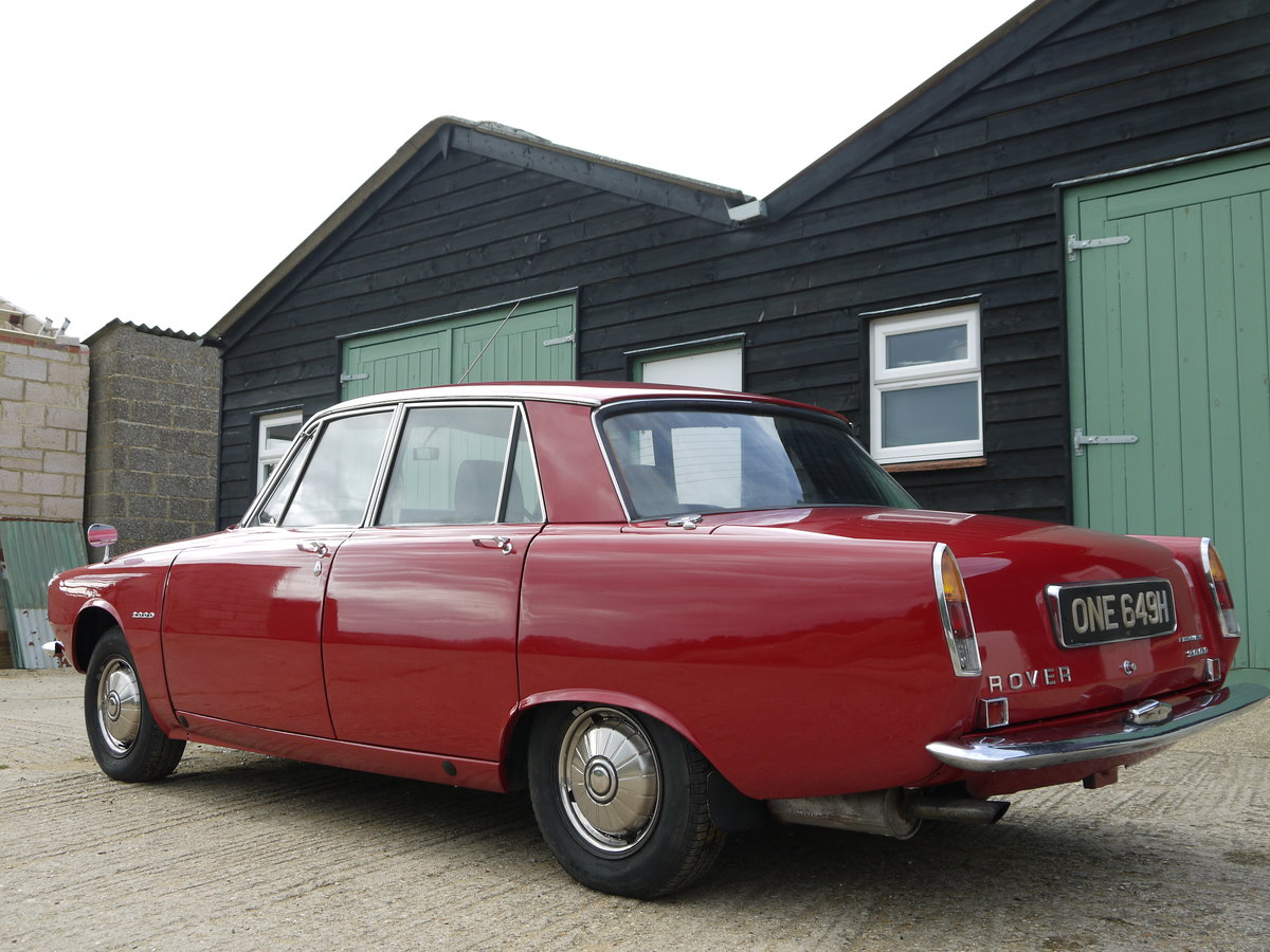 1970 ROVER P6 2000 SC AUTOMATIC - SERIES ONE TWO OWNERS 70K MILES SOLD (picture 3 of 6)