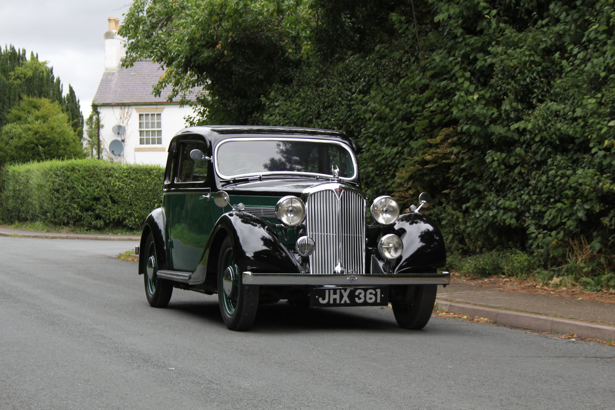 1938 Rover 10 Coupe SOLD (picture 1 of 21)