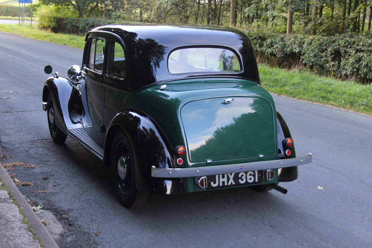 1938 Rover 10 Coupe SOLD (picture 4 of 21)