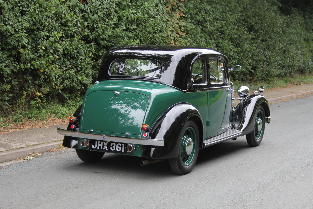 1938 Rover 10 Coupe SOLD (picture 6 of 21)