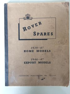 Genuine Rover P2 Parts Manual
