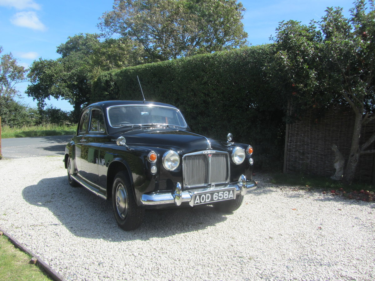 1963 ROVER P4 110 SALOON  For Sale (picture 1 of 6)